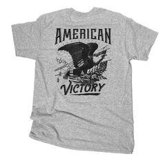 American Victory Freedom Hawk Tee