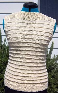 "Really Easy Sleeveless Pullover Top  @craftsy - ""even I could make this"