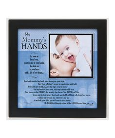 'My Mommy's Hands' Frame