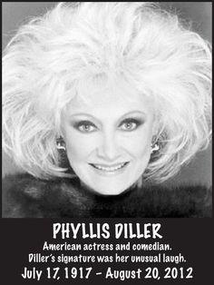 RIP Phyllis Diller