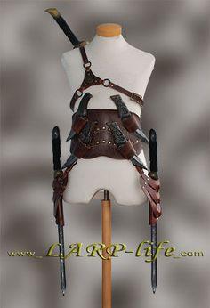 Assasin Schwerthalter Gürtel Schwert Leder Rüstung Assassin Asassin Schwertgurt   eBay