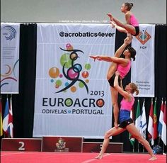 Acro gymnastics. Always had respect for other types of gymnasts.