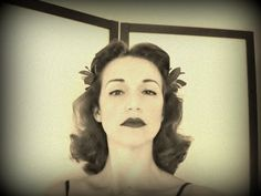 ▶ Following a Vintage Pin Curl Setting Pattern for a Hedy Lamarr Hairstyle - YouTube