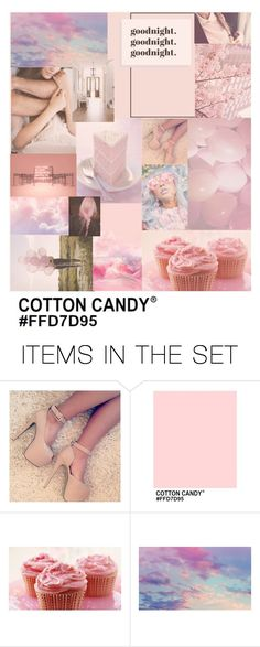 """""""Cotton Candy."""" by queen-4-giants ❤ liked on Polyvore featuring art"""