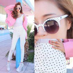 #sunglasses Park Sora #uzzlang #kfashion #kstyle