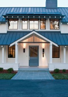 Image result for arctic white hardie plank with black windows