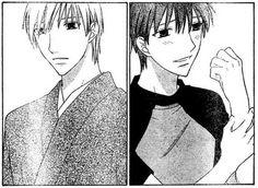 Fruits Basket, Kyo and Kazuma