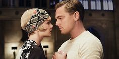 The Great Gatsby Photo with Leonardo DiCaprio and Carey Mulligan - Baz Luhrmann directs this highly-anticipated adaptation of the F. Scott Fitzgerald novel, due in theaters this summer. Jay Gatsby, Look Gatsby, Gatsby Style, Gatsby Girl, 20s Style, Style Hair, Baz Luhrmann, Carey Mulligan, Scott Fitzgerald