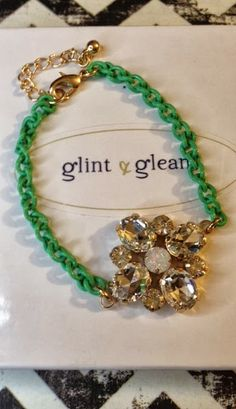 ShopLately Goodies!!  Lovely green bracelet :)