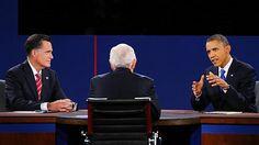 El último cara a cara entre Mitt Romney y Barack Obama en 20 frases.