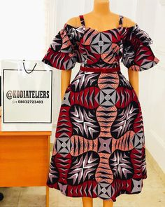 Latest African Fashion Dresses, African Dresses For Women, African Attire, Short Hair Syles, African Clothes, Church Outfits, Ankara Styles, African Fabric, Classy Dress