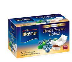 Heidelbeere - Kokos (Unser Tee des Jahres)