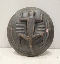 Carved Wooden Bowl, Hand Carved, Filipino Art, Central Island, Indigenous Art, Late 20th Century, Soapstone, Wood Bowls, Tribal Art