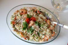 La cucina di Pattylou: Tris di riso, pesce e verdure bimby