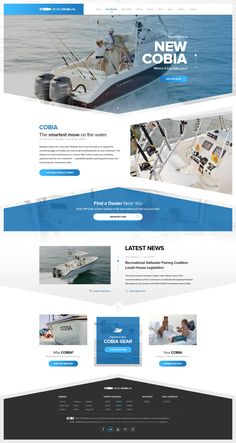 Cobia Boats https://dribbble.com/shots/3129642-Cobia-Boats  #drawingart #dribbble #cobia #cobiaboats #maverick #website #web #design #ui #ux #responsive #html #css #retina #clean #minimal #boat #boats #quality #blue #water #freetime