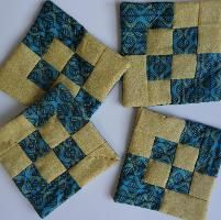 Coasters - Four Squared pattern in Craftsy file