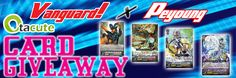 New Giveaway! Win limited Vanguard X Peyoung cards and playmats here! Click image for entry details! #Contest