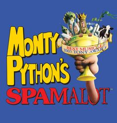 Monty Python's Spamalot, at the Bass. Too funny, well done. February 11, 2012.
