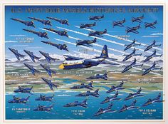 U.S. Navy Blue Angels Aircraft