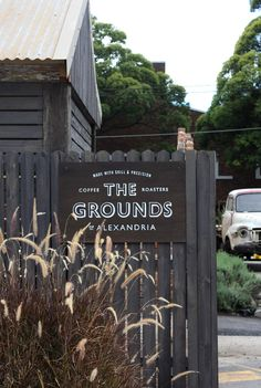 The Grounds of Alexandria - Lynesandco sign company