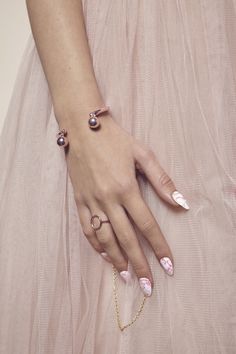 Maria Francesca Pepe (H)oops! Blush Color, Jewelry Collection, Jewelry Making, Feminine, Candy, Bracelets, Charms, Pink, Jewellery