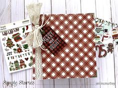 Celebrate the Season! by Jen McMurtrey – Simple Stories Jingle All The Way, Simple Stories, Have A Great Day, Layouts, Things To Come, Seasons, Celebrities, Celebs, Seasons Of The Year