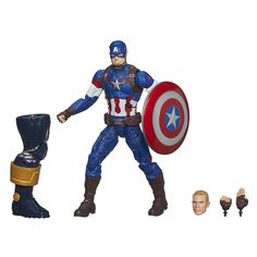 Amazon.com: Marvel Legends Infinite Series Captain America 6-Inch Figure: Toys & Games