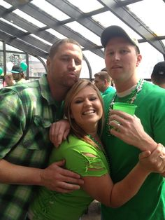 This is a picture of me and my two older brothers at Riley's on St Patricks Day. What gave it away? This picture is important to me because I love my bothers. They are a big part of my life. Even though they constantly picked on me growing up, I have them to thank for my thick skin. Family is important and should be a higher priority in our society.