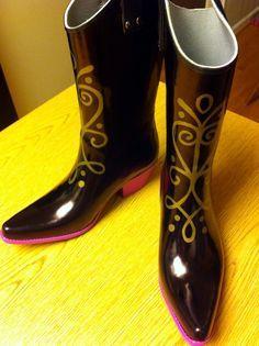 Anna boots tutorial