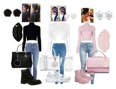 """""""HEART EYES FOR THESE OUTFITS"""" by nyanza-averhart ❤ liked on Polyvore featuring Levi's, Paige Denim, George, Jack Wills, A.L.C., MICHAEL Michael Kors, WithChic, Harrods, Nine West and Armitage Avenue"""