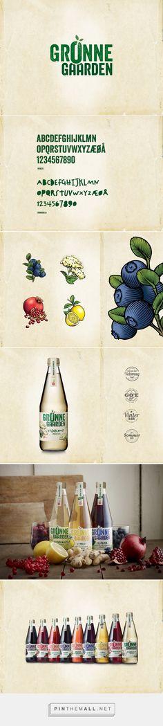 Grønne Gaarden visual identity / label design on Behance