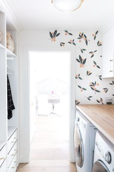 Laundry Room Decals That Make It The Cutest Room in the House! - Driven by Decor