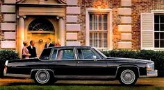 1986 Cadillac Fleetwood Brougham- one day my cadi will look like this