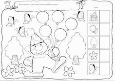Z internetu - Sisa Stipa - Picasa Albums Web 1st Grade Worksheets, 1st Grade Math, Preschool Worksheets, Math Activities, Le Clown, Circus Theme, Early Childhood, Crafts For Kids, Clip Art