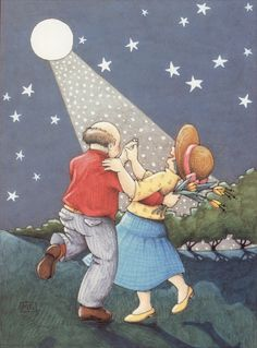 My handmade magnets are created using Mary Engelbreit Artwork illustrations from Mary Engelbreit desk calendars. Mary Engelbreit, Shall We Dance, Lets Dance, Illustrations, Illustration Art, Jessie Willcox Smith, Vieux Couples, Growing Old Together, Dance The Night Away