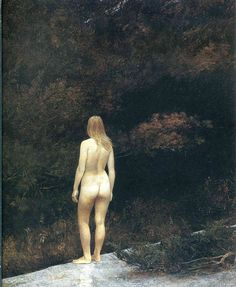 Andrew Wyeth...one of the Helga collection that I saw exhibited at the National Gallery of Art after Junior League President's meeting 1986, Washington DC.