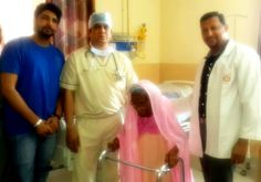 ACHIEVEMENT OF GPSHRC In a recent achievement of GPSHRC, Jaipur's leading Orthopedic transplant surgeon Dr. Sachin Gupta and team Successfully performed Total Hip Replacement (THR) on a 100 year lady. According to Dr. Sachin Gupta, the lady was a very high risk candidate for a procedure as complex as this, on account of her age, frail health and other associated geriatric Condition, but they were able to accomplish the technically challenging task successfully.