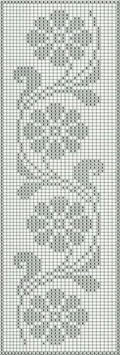 Cross Stitch Beginner, Tiny Cross Stitch, Cross Stitch Flowers, Cross Stitch Designs, Cross Stitch Embroidery, Cross Stitch Patterns, Crochet Patterns Filet, Crochet Curtain Pattern, Crochet Curtains
