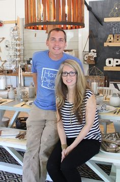 "Clint and Kelly Harp of Harp Design Co., Fixer Upper, and now their own show, ""Against the Grain""!"