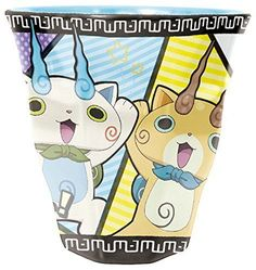 New! Yokai Watch Melamine Cup Komasan Komajiro Japan F/S