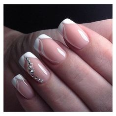 Маникюр Видео уроки Art Simple Nail ❤ liked on Polyvore featuring beauty products, nail care and nail treatments
