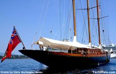 Gucci's Creole, the Largest Wood Sailing Yacht in the World
