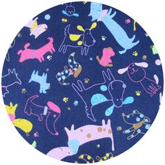 Cosmo Textiles, Doggy Day Electric