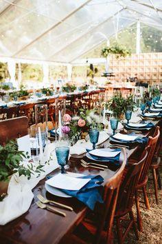 Elegant Jewel-Toned Wedding in the South Carolina Woods Blue Spruce Tree, Diy Wedding, Wedding Ideas, Wedding Details, Temple Wedding, Wedding Backyard, Wedding Parties, Woodland Wedding, Farm Wedding