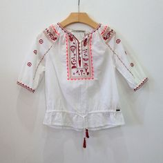 Scotch R'Belle Embroidered Tunic – Petite Étoile Children's Clothing Boutique in Salem, MA