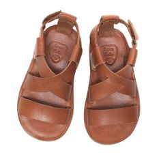 Trendy leather sandal