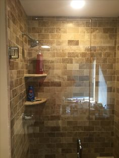 Custom Tiled Shower Bench Seat Bathroom Remodels Pinterest Remodeling Contractors
