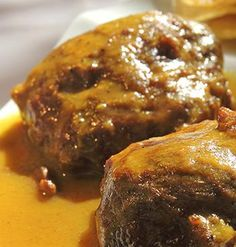 Me encanta la Carrillads! Si la acompañas con patatas fritas remojaditas en la salsa...#delicious #UnSueñoDulce