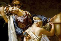 Merry-Joseph Blondel, suas pinturas decoram grandes palácios | #Artistas, #Jmj, #MerryJosephBlondel, #Pintores
