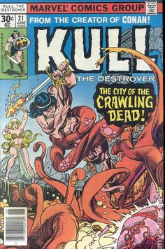 Kull the Conqueror (1971 1st Series) 21